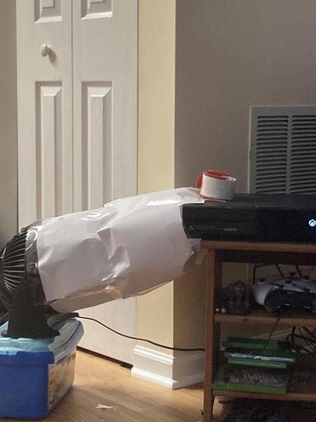 Как сделать дополнительное охлаждение для Xbox One своими руками