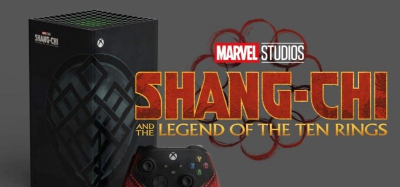 Кастомный Xbox Series X «Шан-Чи и Легенда Десяти Колец»