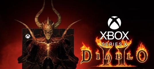 Кастомный Xbox Series X в стиле Diablo II: Resurrected