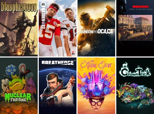 Скидка на игру Xbox На этих выходных подписчики Xbox Live Gold могут бесплатно поиграть в Blasphemous, Rainbow Six Siege и Madden NFL 22.