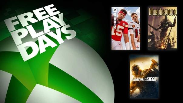 На Xbox One и Xbox Series X|S проходят дни бесплатной игры в Madden NFL 22, «Tom Clancy's Rainbow Six Осада» и Blasphemous для пользователей со статусом Gold и обладателей подписки Xbox Game Pass Ultimate. Все игры также можно приобрести со скидками: