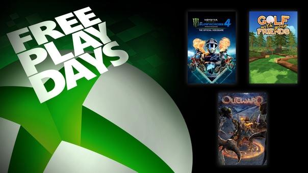 На Xbox One и Xbox Series X S проходят дни бесплатной игры в Monster Energy Supercross 4, Outward и Golf With Your Friends для пользователей со статусом Gold и обладателей подписки Xbox Game Pass Ultimate. Все игры также можно приобрести со скидками: