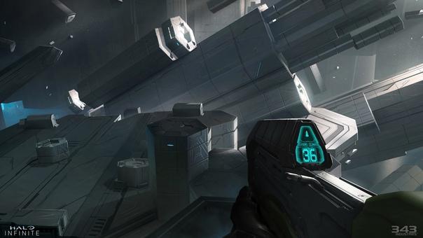 Официальные концепт-арты сюжетной кампании Halo Infinite