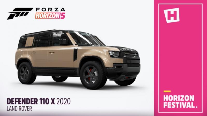 Полный список автомобилей Jaguar и Land Rover, которые будут доступны в Forza Horizon 5