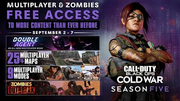 Скидка на игру Xbox Сегодня в Call of Duty: Black Ops Cold War начнутся «дни бесплатной игры».