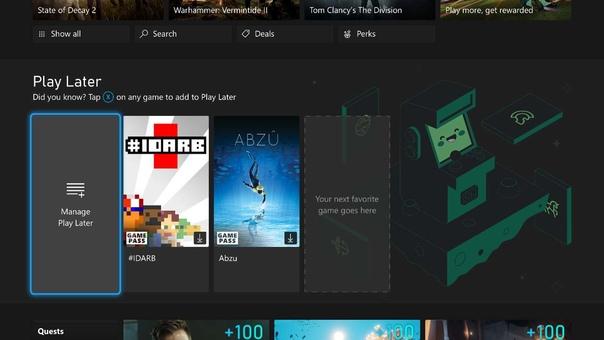 Сентябрьское обновление Xbox: представление списка «Сыграть позже», обновление браузера Microsoft Edge и многое другое.