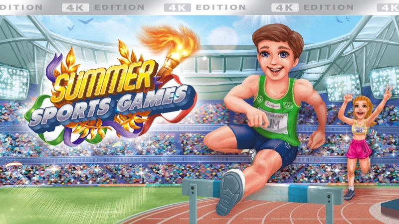 Summer Sports Games – 4K Edition Is Now Available For Xbox One And Xbox Series X|S
