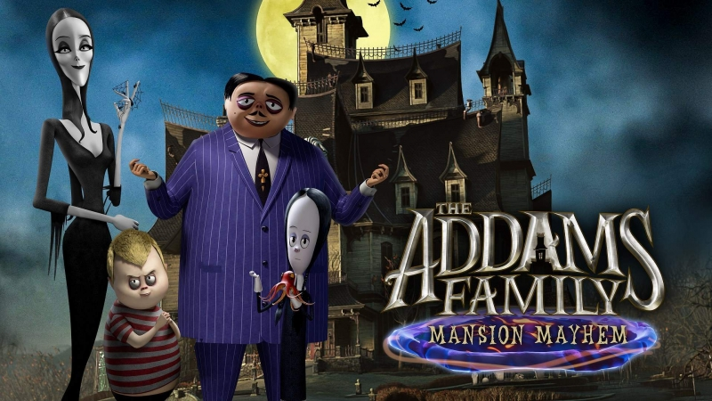 The Addams Family: Mansion Mayhem Is Now Available For Digital Pre-order And Pre-download On Xbox One And Xbox Series X|S