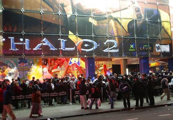 Запуск Halo 2 в ноябре 2014 года