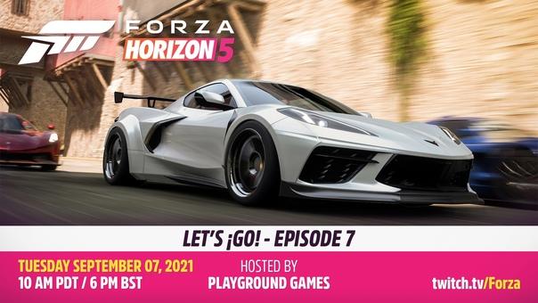 Скидка на игру Xbox Завтра Playground Games в рамках трансляции Let's ¡Go! расскажут/покажут новые подробности о Forza Horizon 5.