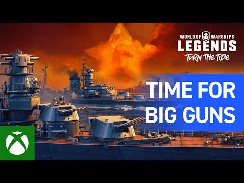 World of Warships: Legends – Time for Big Guns