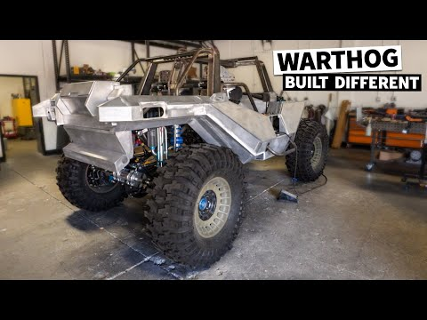 Bodywork is DONE! Our 1,000hp Halo Warthog's hand-built panels are ready for paint!