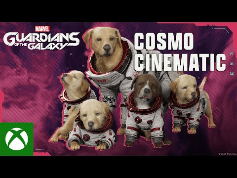 Marvel's Guardians of the Galaxy — Cosmo Cinematic