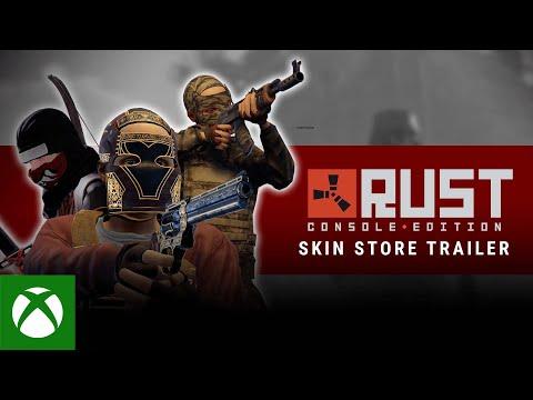 Rust Console Edition Skin Store Release Trailer