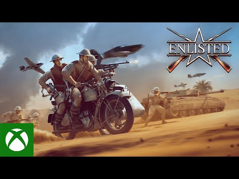 """Enlisted — """"Battle of Tunisia"""" 