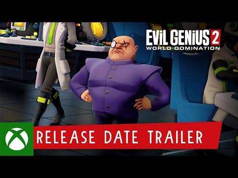 Evil Genius 2: World Domination – Release Date Trailer
