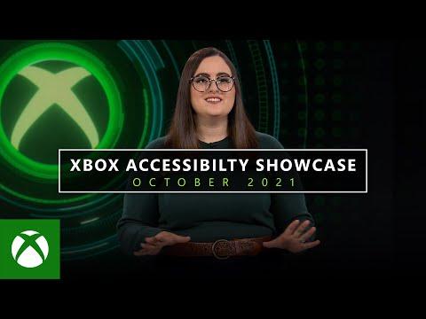 Xbox Accessibility Showcase — October 2021