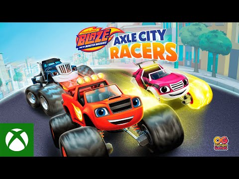 Blaze and the Monster Machines Axle City Racers  — Launch Trailer