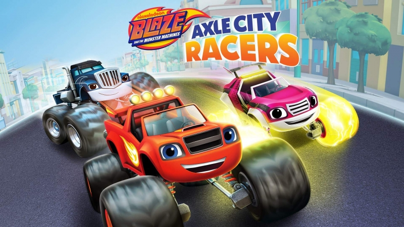 Blaze And The Monster Machines: Axle City Racers Is Now Available For Xbox One And Xbox Series X|S