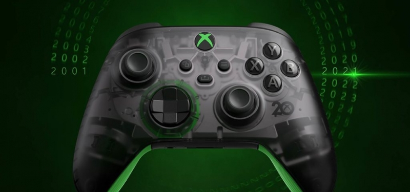 Геймпад, гарнитура и другие аксессуары в честь 20-летия Xbox