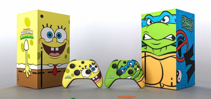 Microsoft разыграет ограниченное количество консолей Xbox Series X Nickelodeon All-Star Brawl с кастомизированными контроллерами