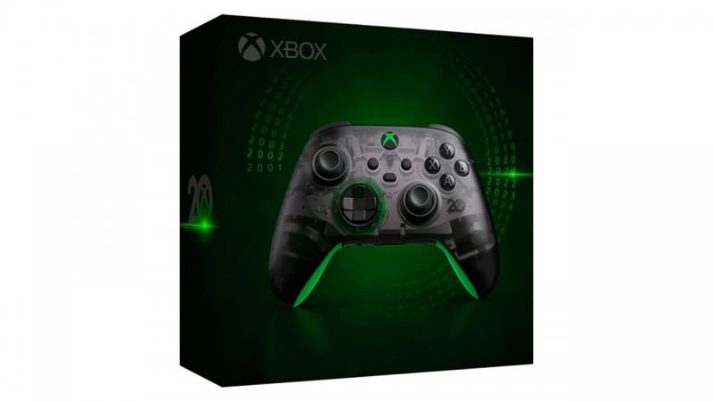 Появились фото «юбилейного» геймпада к 20-летию Xbox