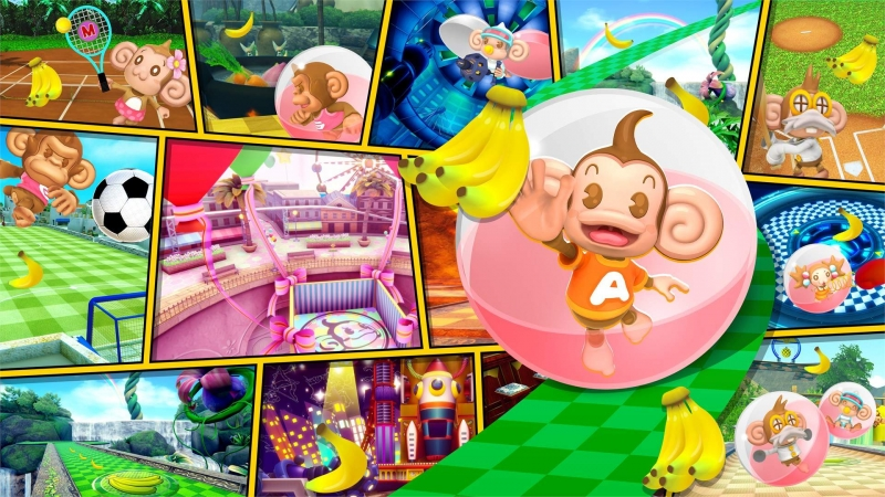 Super Monkey Ball Banana Mania Digital Deluxe Edition Is Now Available For Xbox One And Xbox Series X S
