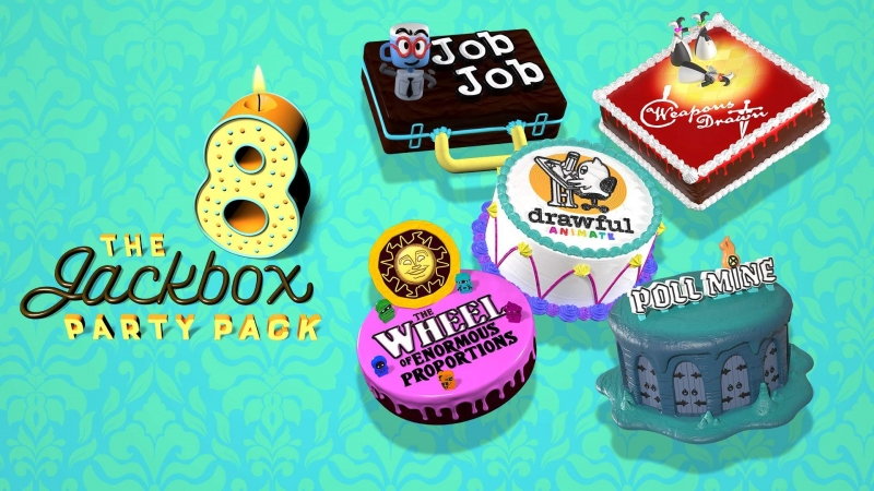 The Jackbox Party Pack 8 Is Now Available For Xbox One And Xbox Series X|S